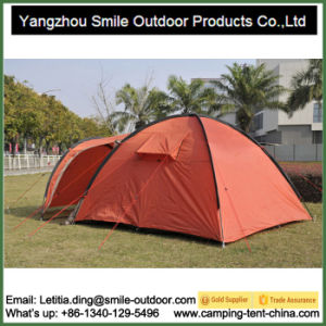 4 Person Canopy Wedding Party Family Luxury Camping Tent pictures & photos
