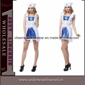 Sexy Adult Sailor Party Costume (TGYW0112) pictures & photos