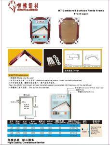 Aluminum Clip Picture Frame pictures & photos