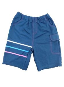 Navy Boy Woven Shorts with Offset Printed (SP001) pictures & photos
