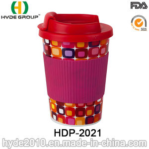High Quality 10oz Travel Coffee Mug with TPR Sleeve (HDP-2021) pictures & photos