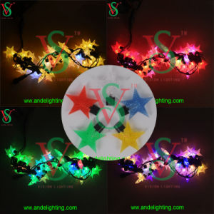 Christmas Light Supplies RGB LED Lighting Star Decoration Curtain pictures & photos