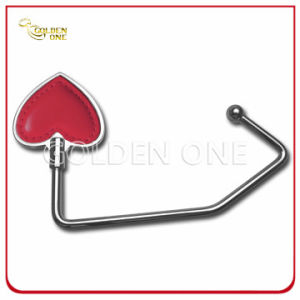 Nickel Plated Heart Design Metal Bag Hook Gift for Lady pictures & photos