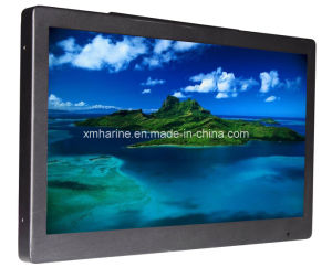 18.5 Inch Metal Housing Monitor Bus Color LCD Player pictures & photos