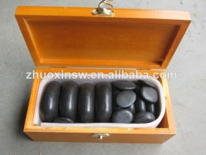 Wholesale Price of 100% Nature Hot Stone (20PCS set)