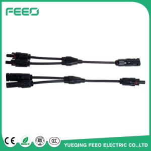 Factory Price 30A Y-Branch Cable Assembly Mc4 Y Connectors for Solar Panels pictures & photos
