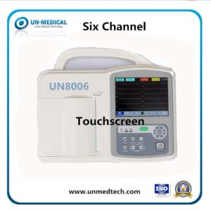 Color TFT Screen 6 Channels Veterinary Use ECG Machine pictures & photos