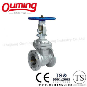 JIS Stainless Steel Flanged Gate Valve with Handwheel pictures & photos