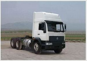 White Sinotruk 6*4 Euro2 Tractor Head for Sale pictures & photos