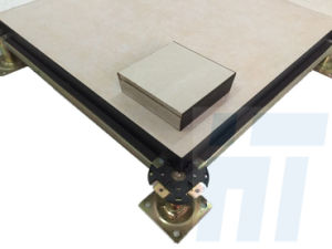 600X600mm Access Floor System in Ceramic Finish (Calcium Sulphate Core) pictures & photos