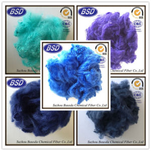 Polyester Staple Fiber PSF for Non-Woven Fabrics in Wholesale Price pictures & photos