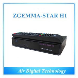 DVB C DVB S/S2 Multimedia Set Top Box Zgemma-Star H1 pictures & photos
