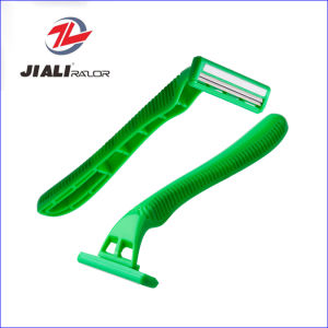 Twin Blades Disposable Shaving Razor Blade pictures & photos