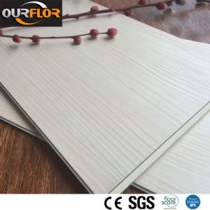 White Color WPC Vinyl Floor Tiles / WPC Vinyl Click Floor pictures & photos