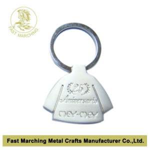 Custom Keyring with Embossed Logo