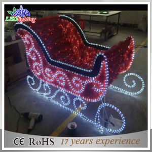 2016 New Christmas Decorations Outdoor LED Sleigh Lights pictures & photos
