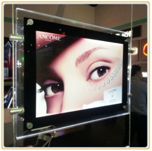 LED Advertising Display Acrylic Crystal Light Boxes (Ceiling Hanging) pictures & photos
