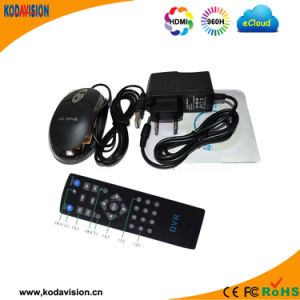 4 Channel 1200tvl Free Cms Software CCTV System pictures & photos