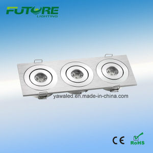 Hl-2023 3W LED Square Mini Downlight pictures & photos