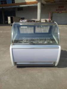 Display Glass Case/Hard Ice Cream Machine pictures & photos