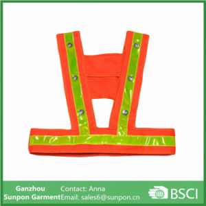 Reflective Vest Traffic Safety Clothing Fluorescent Workwear pictures & photos
