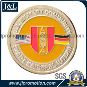 Die Struck Bronze Soft Enamel Coin Hight Quality pictures & photos