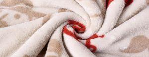 Coral Fleece with Shu Velveteen Blanket / Sherpa Fleece Baby Throw pictures & photos
