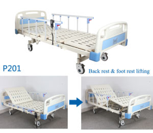 Good Price! ! China Adjustable Two Functions Electric Hospital Furniture Bed for Patient with Ce&ISO pictures & photos