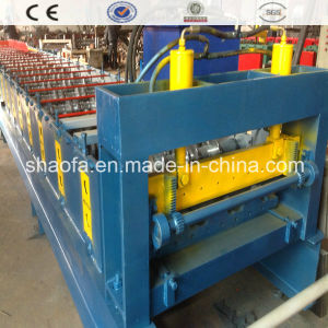 Color Steel Deck Floor Making Roll Forming Machine pictures & photos