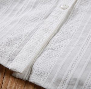 Lady′s Embroidered Shirts, Fashion Colthing, Wts45804V pictures & photos