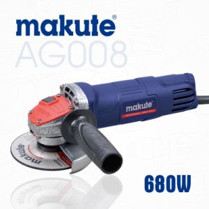 Makute Angle Grinder 680W 115mm Power Tool (AG008) pictures & photos