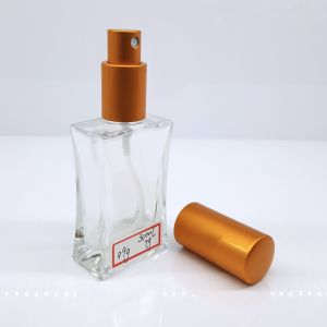 S1 Screw Square Glass Spray Perfume Bottle 30ml pictures & photos