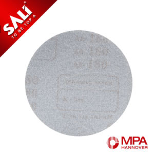 Round Hook & Loop Polishing Sanding Disc with Hole Abrasive Tool pictures & photos