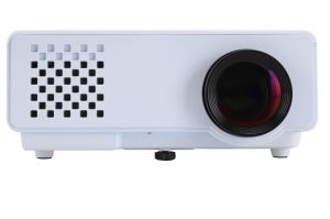 Yi-810 Mini Projector 40W Portable HD 1080P LED Micro Projector with HDMI / USB/ VGA / AV /TV pictures & photos