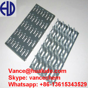 Galvanized Steel Roof Truss Nail Plates pictures & photos