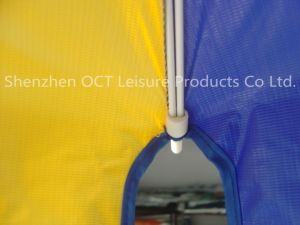 Reinforced Advertising Beach Umbrella with Complex Imprinting pictures & photos
