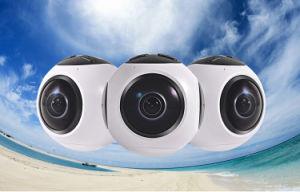 Digital 360 Degree Video Camera for Panoramic Video