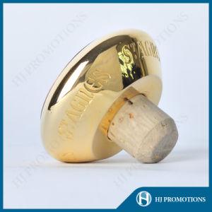 Premium-Quality Wine Bottle Metal Cap with Cork (HJ-MCJM02) pictures & photos