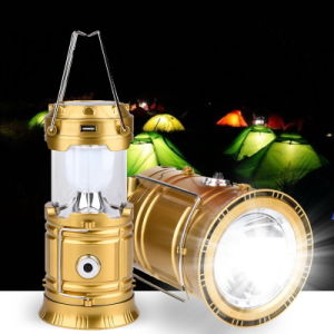 LED Solar Rechargeable Camping Lantern pictures & photos