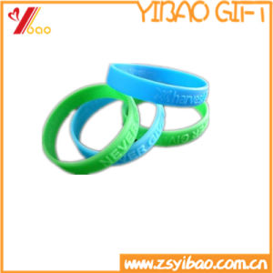 Custom Rubber Bracelet of Silicone Wrist Band Silicone Band of Rubber Ring (XY-HR-106) pictures & photos