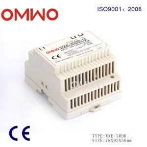 Omwo Wxe-30dr-48 LED DIN Rail Switch Power Supply pictures & photos