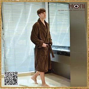 China Supplier Cheap Bathrobe, Men Printed Bathrobe, Plain Bathrobe pictures & photos