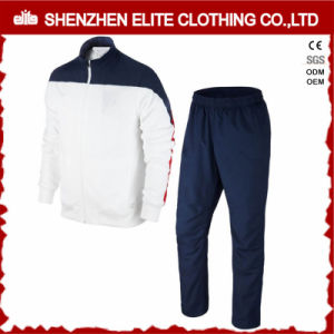High Quality Classic White and Navy Tracksuit Sportwear (ELTTI-23) pictures & photos
