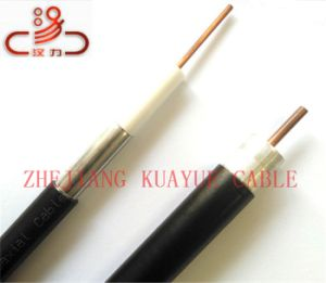 Coaxial Cable 75ohm RG6 /Computer Cable/Data Cable/Communication Cable/Audio Cable/Connector pictures & photos