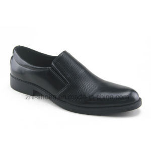 Men′s Dress Shoes / Business Footwear with Embossing (HDS-S05)