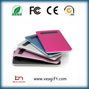 Li-Polymer Battery Ultra Slim Power Bank Mobile Phone Charger pictures & photos