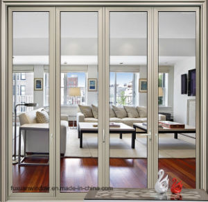 Thermal Break Aluminum Alloy Folding Door Supply by Factory pictures & photos