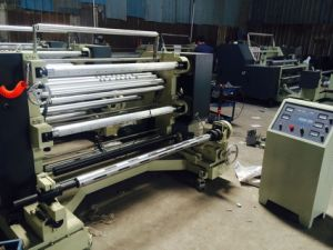 Plastic Film Slitting and Rewinding Machine for PP Pet OPP LDPE LDPE pictures & photos