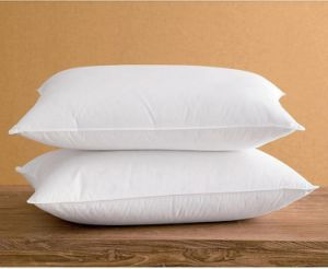Luxury 50% White Duck Down Neck Pillow pictures & photos