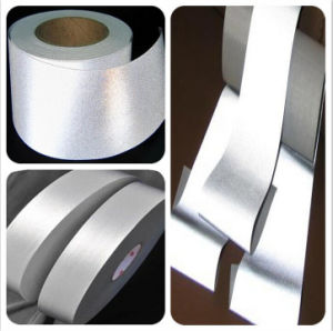 High Reflective Band Tape Fabric for Safety Vest Clothes Silver pictures & photos